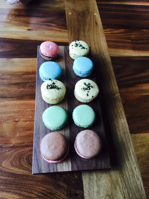 Macarons at Rue Saint Marc in Jacksonville.