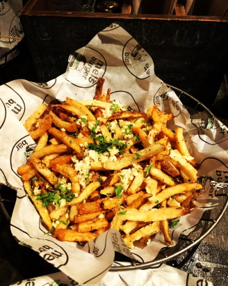 Mel's burgers garlic fries