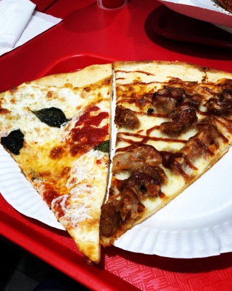Sorry I don't know where exactly this was, but near Lincoln Center! Honestly have never had a bad slice of NY pizza
